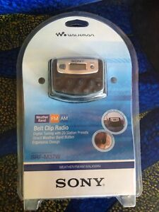 SONY WALKMAN SRF-M37W AM/FM WEATHER DIGITAL RADIO NEW IN CARTON