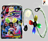LED LIGHT UP QUAD SONIC CYCLONE SPINNER Birthday Party Xmas Bag Filler PM543133