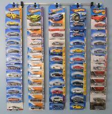 Diecast vehicle display55 - Hot Wheels, Matchbox, Jada, Clamshell &Blister packs