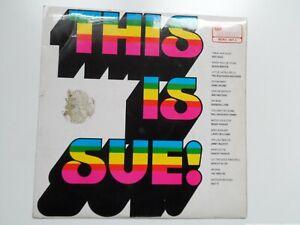 "THIS IS SUE ~ ISLAND RECORDS. ~ 12"" MONO VINYL  ALBUM ~ 1969"