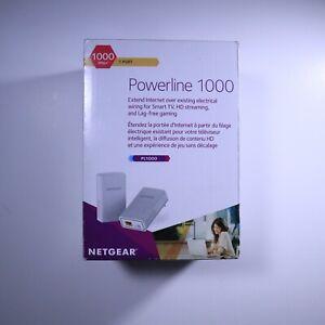 Netgear Powerline 1000 Mbps 1 Port PL1000-100PAS - Used Excellent condition