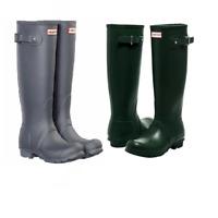 NEW!! Hunter Original Women's Tall Matte Rain Boots Variety