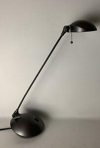Vintage Mid Century Danish Modern Circa 1990s Desk Lamp Space Age Kovacs Era