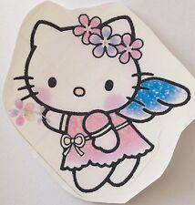 ♥ 1 Bügelbild Hello Kitty Engel Transferfolie  NUR ! helle Stoffe ♥Bügelbilder