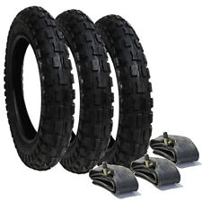 Phil and Teds Explorer Heavy Duty Chunky Pram Tyres & Tubes (Set of 3)