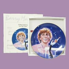"Barry Manilow ""Copacabana"" 1984 The Heirloom Tradition Collector's Plate Le"