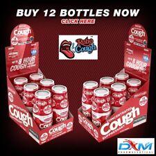 RoboCough™ Pack of 12 Bottles, 450mg DXM Per Bottle - BERRY Flavor!