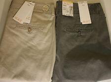 L30 Gerades-Bein Damen-Hosen mit Mittel und Baumwolle