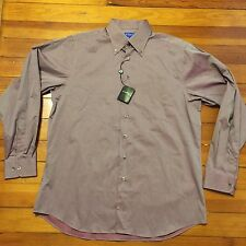 NWT $118 Coppley Designer Mens Long Sleeve Dress Shirt Size Large L