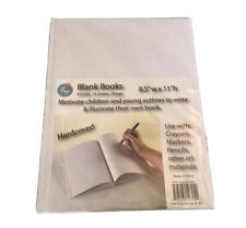 Ashley Ash10705 Hardcover Blank Book 8.5� Wide 11� Length White 28 Pages