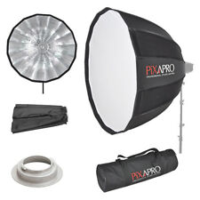 Pixapro 90cm 16 lati Easy-open Deep Ombrello Softbox Broncolor (B)