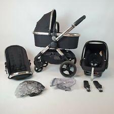 iCandy Peach 3 Full travel system PUSHCHAIR Pram stroller Black Magic