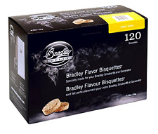 Bradley Alder Bisquettes 120 pack Approximate 40 Total Hours Of Smoke, New