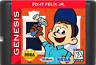 Fix It Felix Jr Sega Genesis Game Cartridge Arcade Mini Wreck Ralph Disney New
