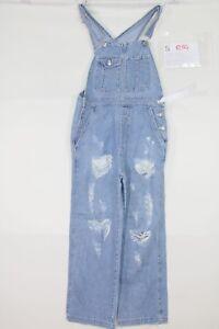 Salopette GAP Customized (Cod. S1254) Tg.S Jeans Wild Boar Donna Usato Vintage