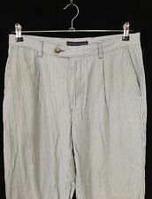 vintage Tommy Hilfiger Pants blue striped chinos Mens Medium 34/34