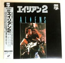 Aliens LD Laserdisc language is English & Japanese subtitle with OBI From Japan