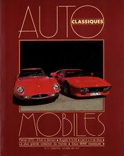 AUTOMOBILES CLASSIQUES n°10 FERRARI GTO 1961 & 1985 BUGATTI 51 & 55