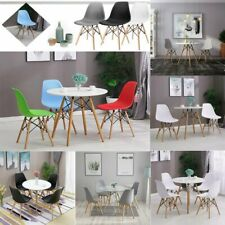 Wohnzimmerstuhl Esszimmerstühle Essgruppe Sitzfläche Holzbeine Küchenstuhl DE