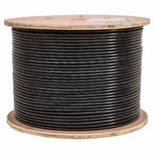 CERTICABLE 400' SHIELDED CAT-6 OUTDOOR AERIAL BURIAL CABLE WIRE UV NO CONNECTORS