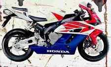 Honda CBR1000RR FireBlade fb 2004 Aged Vintage SIGN A3 LARGE Retro