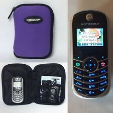 Motorola C139 Prepaid Wireless TracFone Black and Silver Cell Phone