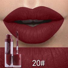 2017 Beauty Nude Metallic Matte Waterproof Liquid Lipstick Moisturizer Lip Gloss 20#