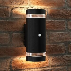 Auraglow PIR Motion Sensor Double Up & Down Outdoor Wall Security Light