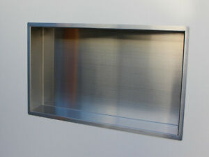 #304 Stainless Steel Shower / Bathroom Niche (630mmx 330mm x 100mm) / Wall Shelf