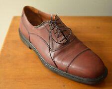 SEBAGO Men s 11D Casual Dress Brown Leather Cap Toe Oxfords Lace Up Shoes 2f600009c