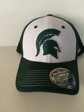 newest 49bd1 9acb5 Michigan State Spartans Zephyr Bleacher Stretch fit hat M L