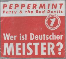 Peppermint Patty & The Red Devils Wer ist Deutscher Meister Maxi CD NEU