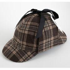 New! Sherlock Holmes Deerstalker Hat Child Adult Cap Fashion Accessories &