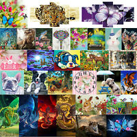 5D Full Drill Diamond Painting Animals Embroidery DIY Cross Stitch Kit Decor