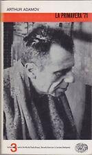 Adamov, La primavera '71, Collezione di teatro, 1963, Einaudi, teatro francese