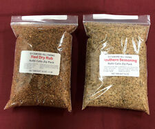 Dry Red Meat Rub & Southern Seasoning Combo - Each Bag 1 lb