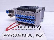 Festo CPV10-VI ET 200Pro Pneumatic Valve Assembly, Profibus Adapter Y95