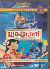LILO & STITCH 2 Disc Special Edition DVD - New - PAL R4