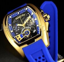 Invicta Men's S1 Rally Blue Silicone Band Steel Case Swiss Quartz Watch 26399