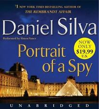 Gabriel Allon: Portrait of a Spy Daniel Silva Audio Book 2012 10 CD Unabridged