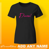 Hen T Shirts Do Party Bride Personalised T-Shirt Ladies Custom Printed Tee Mom