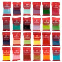 Renshaws Regalice 250g Gram Ready Roll Icing Sugarpaste Fondant Bright Colours