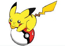 POSTER A4 PLASTIFIE-LAMINATED(1 FREE/1 GRATUIT)*DESSIN ANIME POKEMON.PIKACHU.N°5
