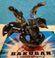 Bakugan Ingram Black Steel Subterra B3 BakuSteel 670G & Game Cards