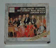 5 CD BOX/TELEMANN/DER GETREUE MUSIC-MEISTER/CAMERATA KÖLN/RD 77239