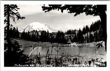 MT RAINIER NATIONAL PARK, WA Washington  TIPSU LAKE & MT Rainier Ellis #586 c50s