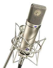 Montaje de choque, soporte de micrófono, Clip Para Neumann U87 U87Ai U89i U47 TLM