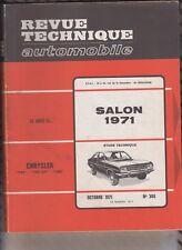VINTAGE Revue technique automobile N°305  SEPTEMBRE 1971 VOLVO SERIES 142 144