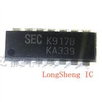 10pcs KA339A - ON Semiconductor - Comparator ICs Quad Comparator  NEW