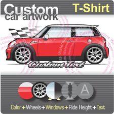 Custom T-shirt 2007 08 09 10 11 12 13 14 Mini John Cooper S Hatch Cabrio R56 SD